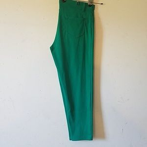Womens Pants/jeggings Green